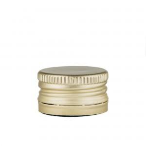 Dop metalizat auriu 31,5 x 16