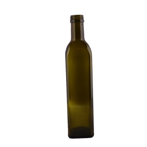 Sticla patrata ulei de masline 250 ml