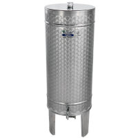 Recipient / cisterna inox DISTILATE 100 L