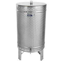 Recipient / cisterna inox DISTILATE 200 L