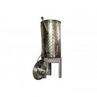 Recipient / cisterna inox cu capac flotant 100 L