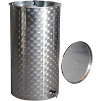 Recipient / cisterna inox cu capac flotant 1000 L