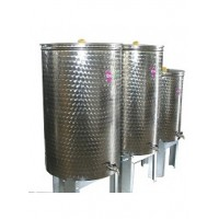 Recipient / cisterna inox cu capac flotant 200 L