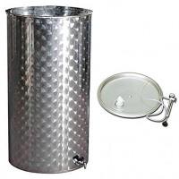 Recipient / cisterna inox cu capac flotant 300 L