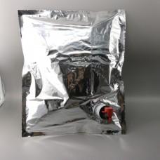 Punga bag in box 3 litri metalizat la BAX 300 buc