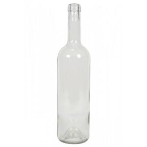 Sticla vin 0.75 L incolora